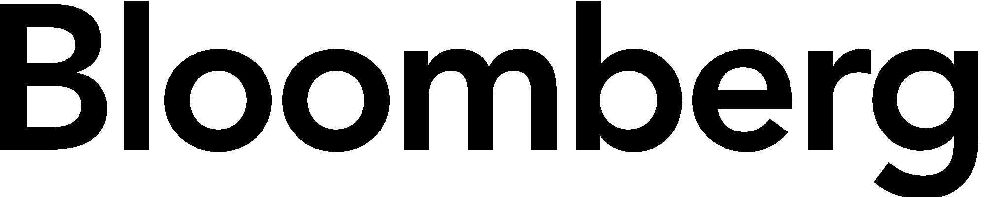 BLOOMBERG logo blk