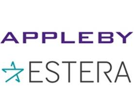Appleby and Estera joint logos