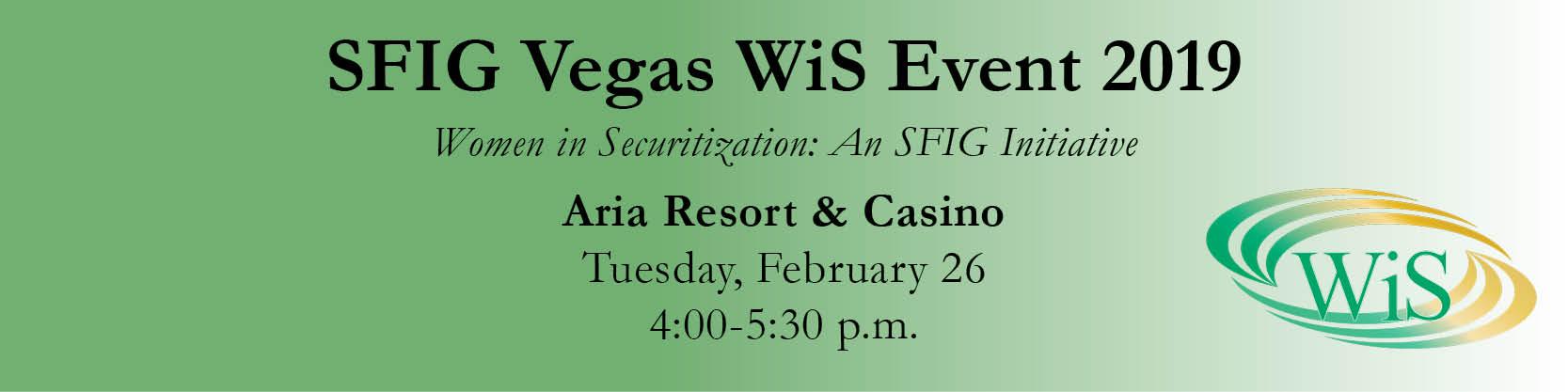 SFIG Vegas WiS Event 2019