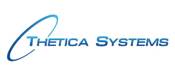 Thetica Logo Blue on White no Tagline