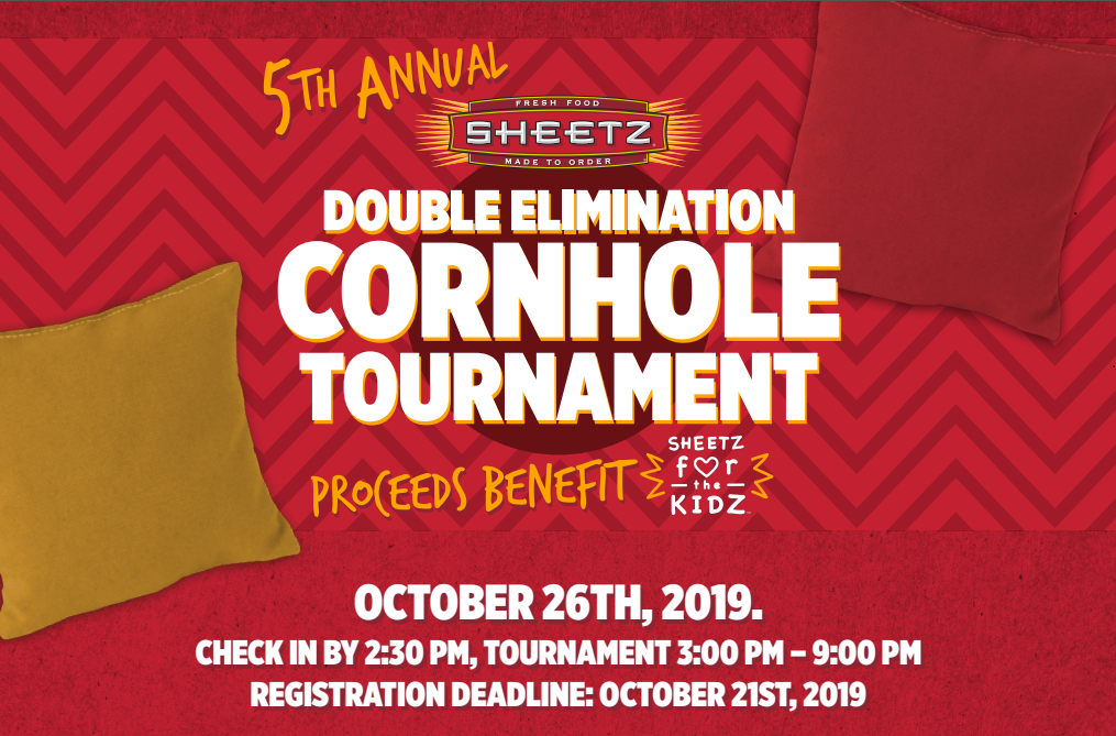 5th Annual Sheetz Charity Cornhole Tournament