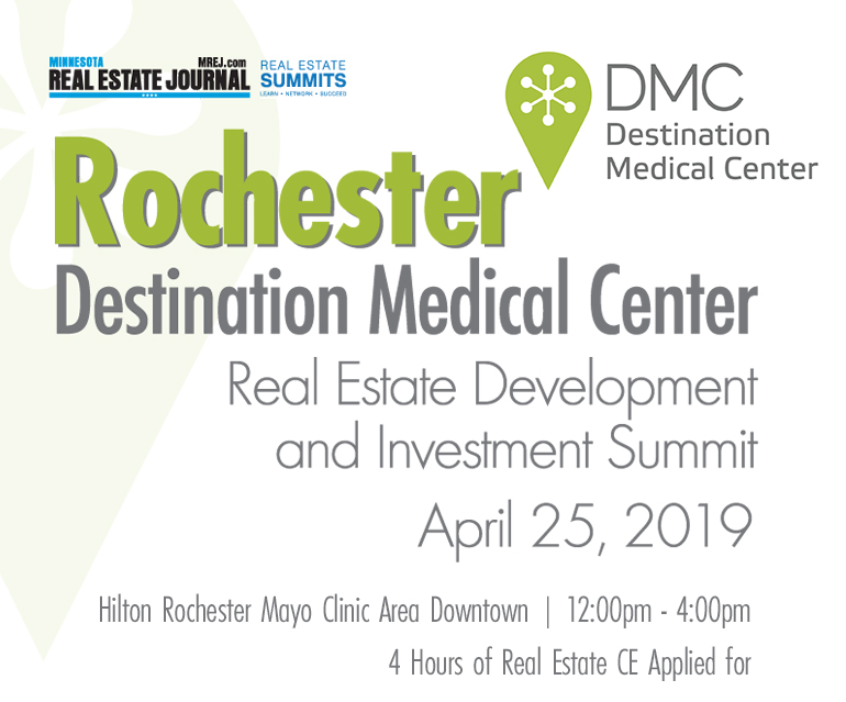 3rd Annual Rochester Destination Medical Center Summit - In Rochester