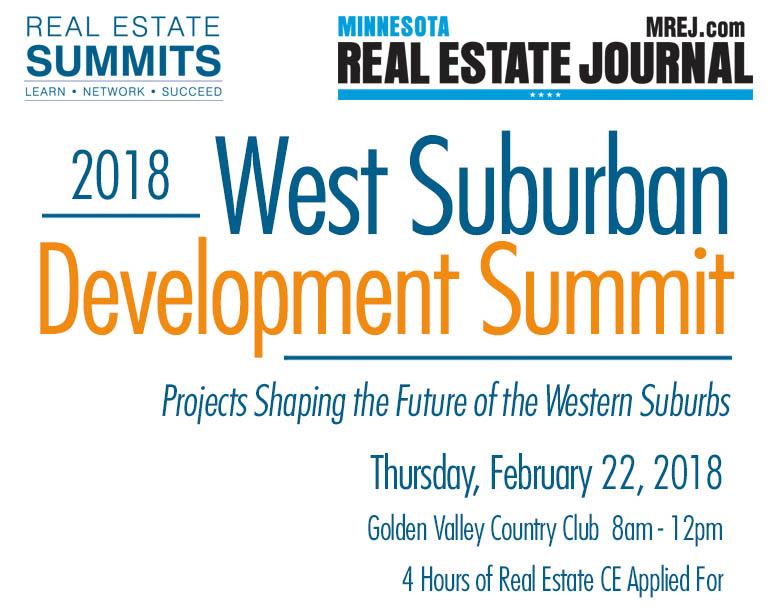 2018 West Suburban Development Summit