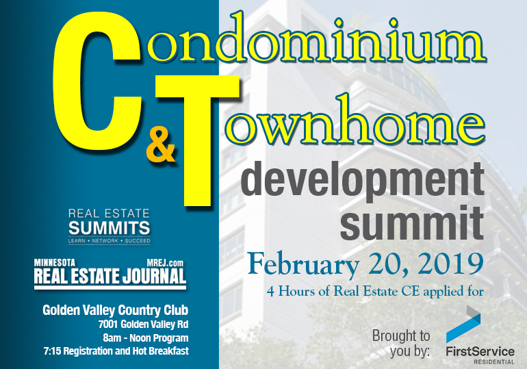 2019 Condominium & Townhome Development Summit