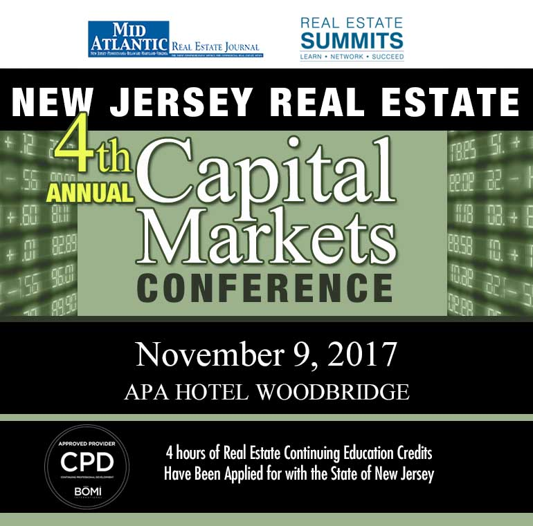 4th Annual NJ Real Estate Capital Markets Summit