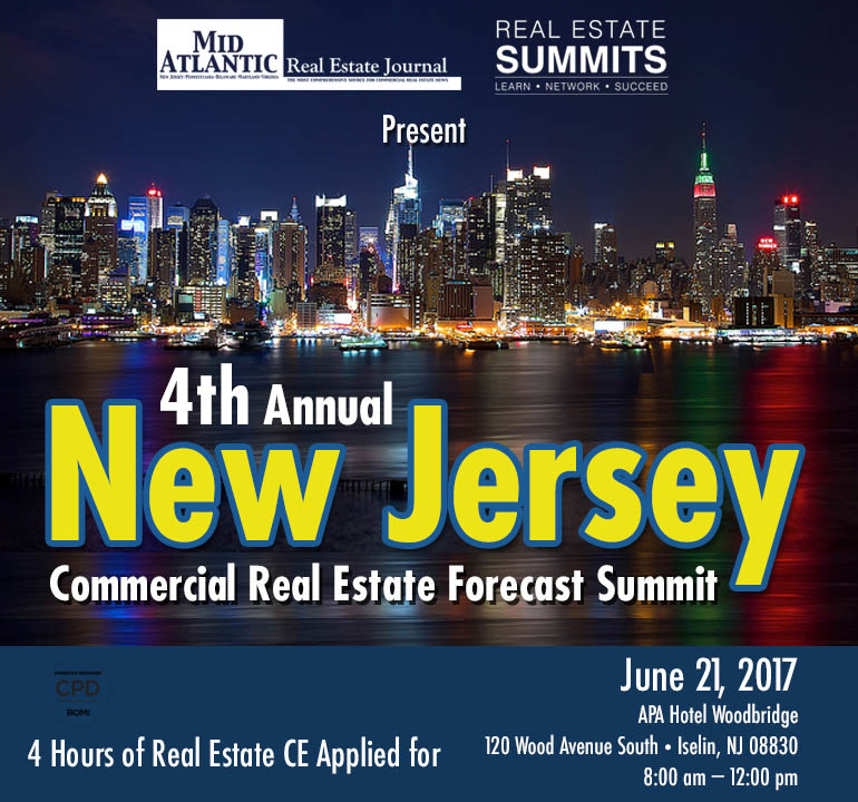 4th Annual New Jersey Commercial Real Estate Forecast Summit
