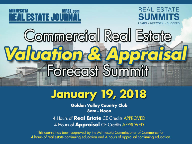 2018 Commercial Real Estate Valuation & Appraisal Forecast Summit