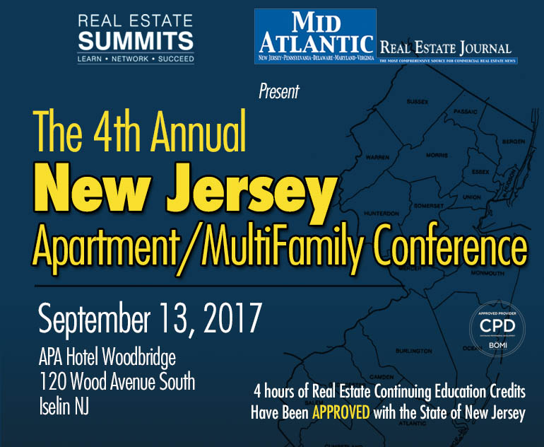 4th Annual New Jersey Apartment/Multifamily Summit