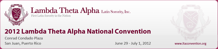 2012 Lambda Theta Alpha National Convention