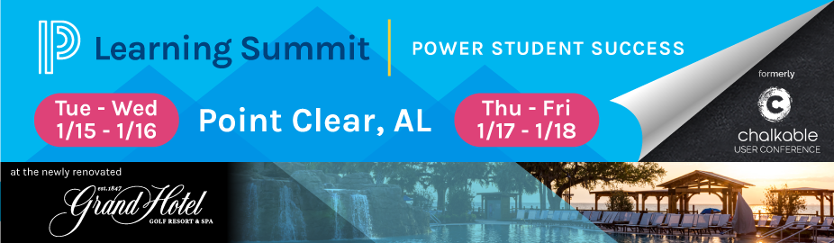 2019 Alabama PowerSchool Learning Summit (January 15-16)