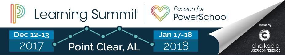 2017-2018 PowerSchool Learning Summit