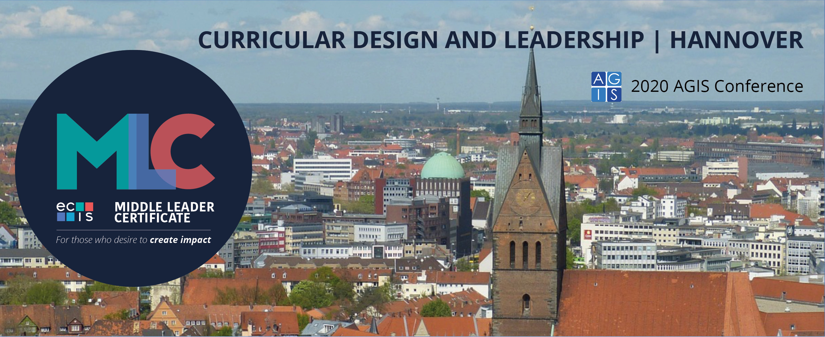 MLC - Curricular Design and Leadership - AGIS Conference 25 + 26 Jan