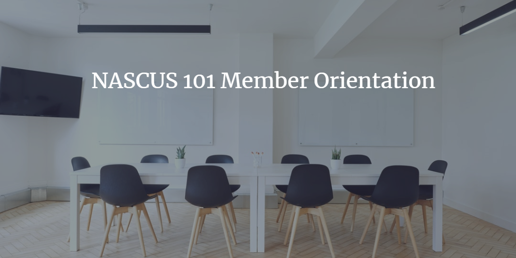 NASCUS 101 Member Orientation (Free Webinar)