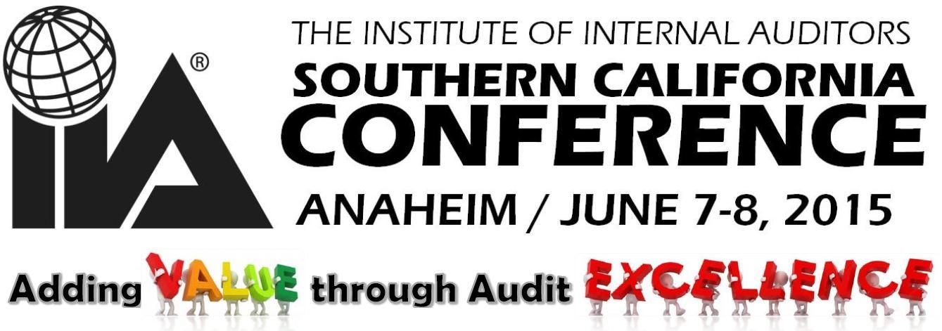 2015 IIA Southern California Conference