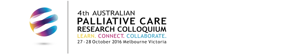 4th Australian Palliative Care Research Colloquium