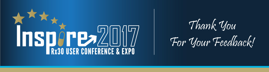 Inspire2017 | Rx30 User Conference & Expo