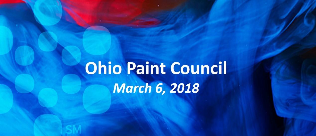 2018 Spring Ohio Paint Council