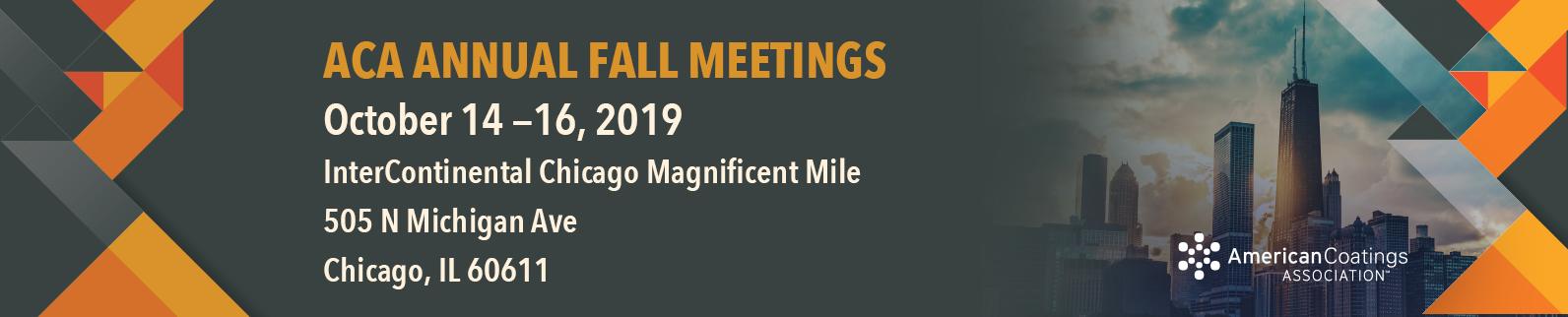 ACA Annual Fall Meeting