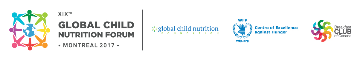 XIXth Global Child Nutrition Forum