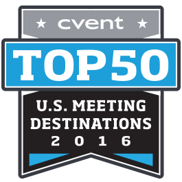 Cvent 2016 Top 50 US Meeting Destinations