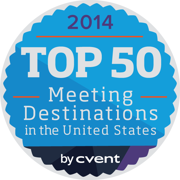 Cvent 2014 Top 50 Meeting Destinations