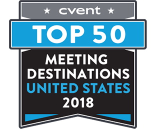 Cvent 2018 Top 50 US Meeting Destinations