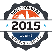 Cvent 2015 Top 100 Meeting Resorts in the US