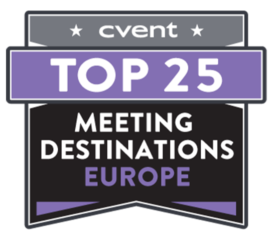 2018 Top 25 EUROPE Meeting Destinations