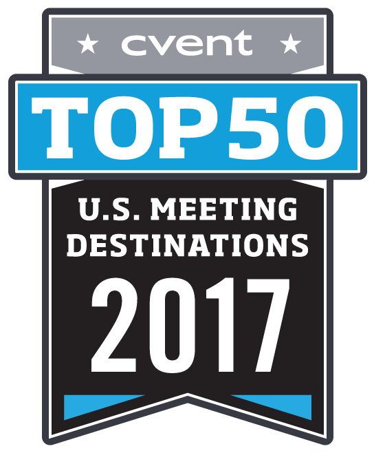Cvent 2017 Top 50 US Meeting Destinations
