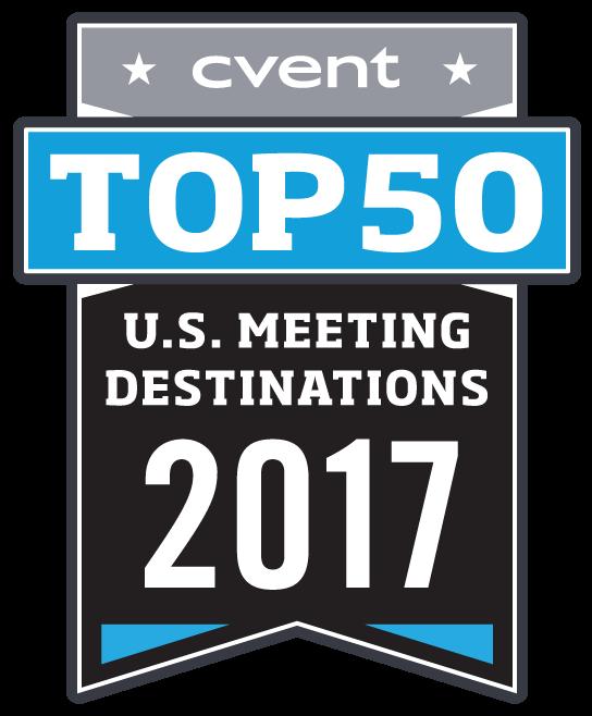 Cvent 2017 Top 50 US Meeting Destinations
