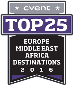 2016 Top 25 Europe Middle East Africa Meeting Destinations