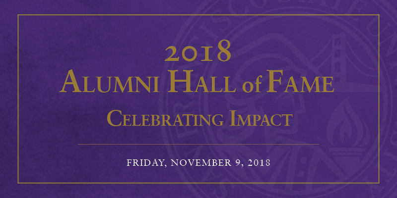 2018  Alumni Hall of Fame Celebration