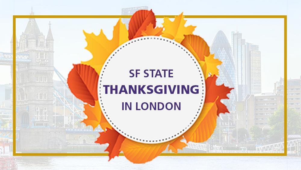 Thanksgiving Dinner in London