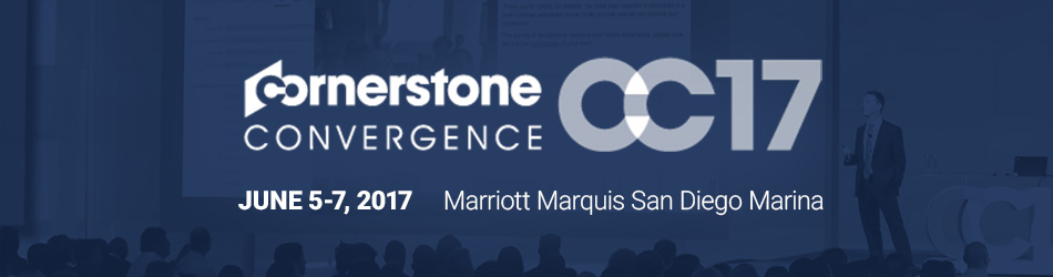 Cornerstone Convergence 2017