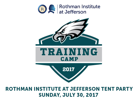Eagles Training Camp Tent Party