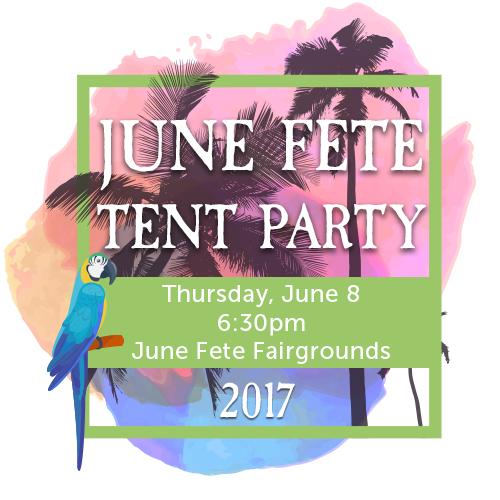 June Fete Tent Party