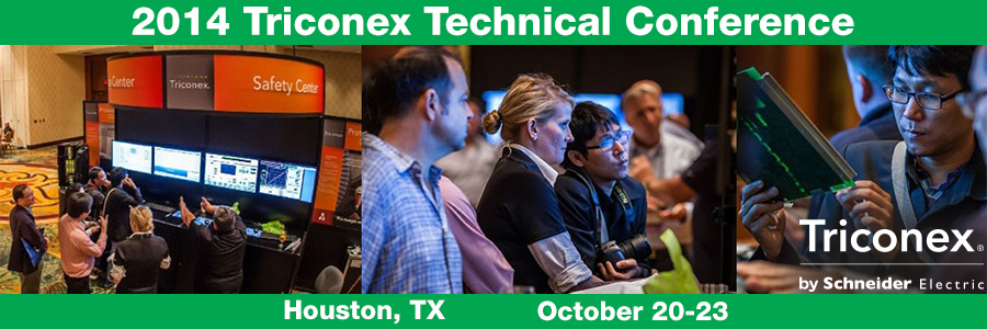 2014 Triconex Technical Conference