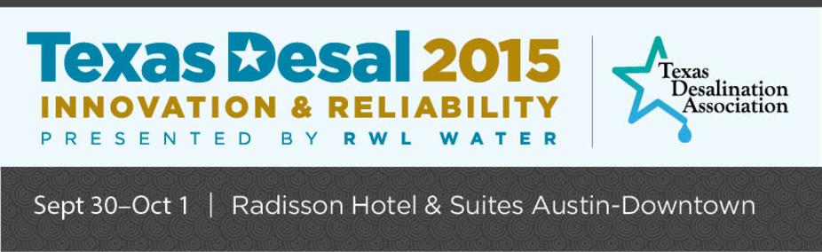 TexasDesal2015: Innovation & Reliability