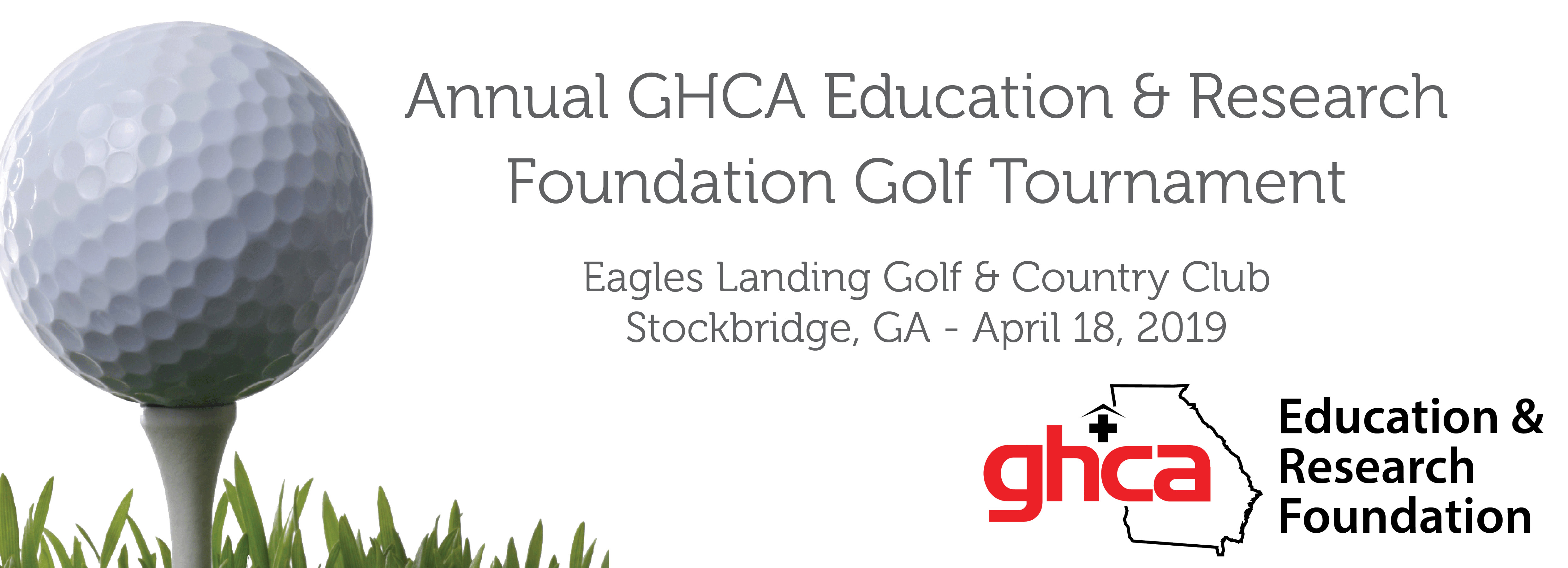 2019 GHCA Foundation Golf Tournament