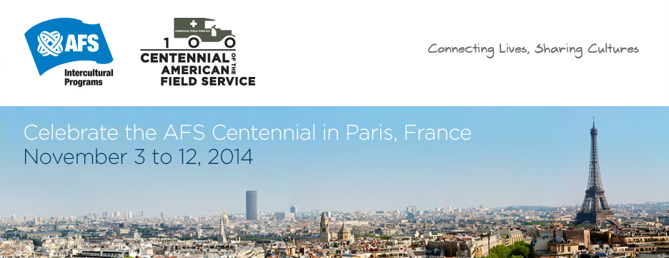AFS World Congress and Centennial Celebrations