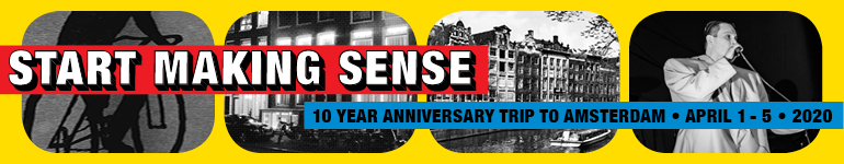 Start Making Sense - Anniversary Trip