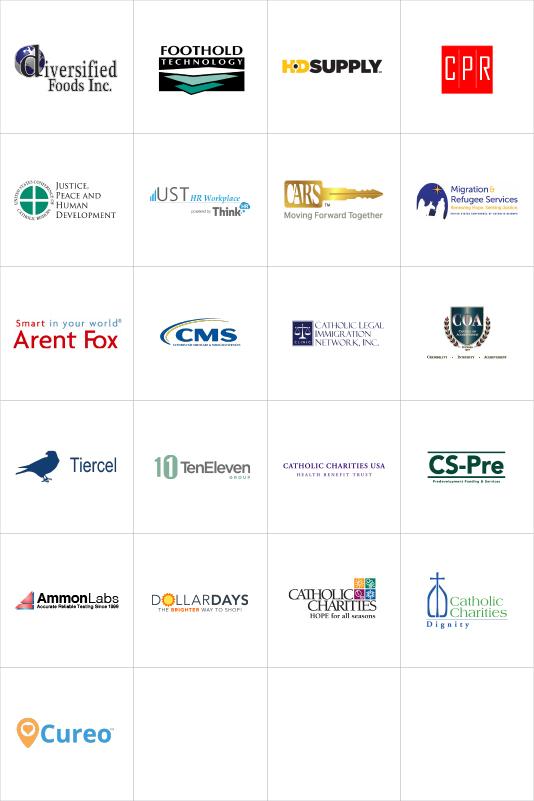 Sponsorship Logos - Grid