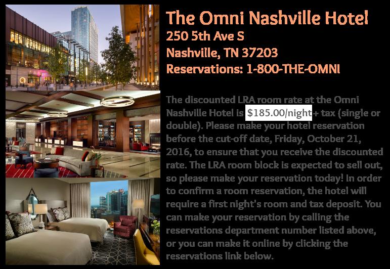 LRA hotel Information