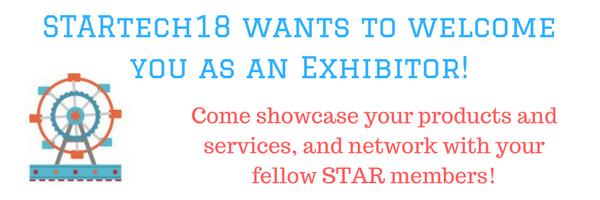 STARtech18 Exhibitor! (1)