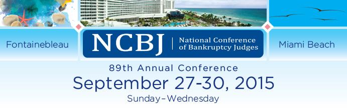 2015 National Conference of Bankruptcy Judges