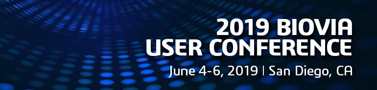 2019 US BIOVIA User Conference