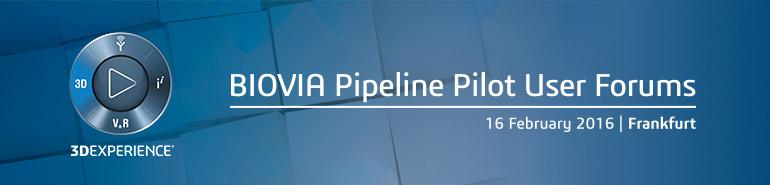 BIOVIA Pipeline Pilot User Forum - Frankfurt
