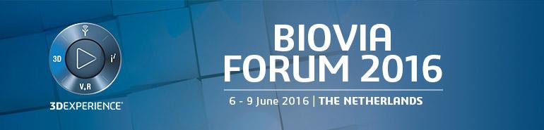 2016 BIOVIA Forum - Europe