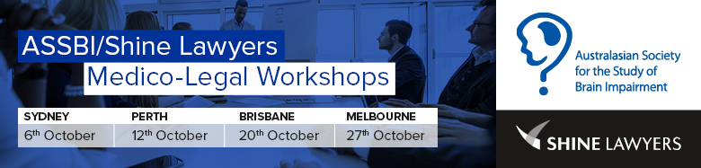 ASSBI/Shine Lawyers Medico-Legal Workshop