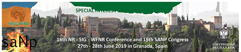 16th NR-SIG-WNR Conference